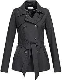 ONLY Damen Mantel Onllucy Short Trenchcoat Cc Otw