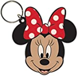 Minnie Mouse Keychain Keyring For Fans - Head (2 x 2 inches)