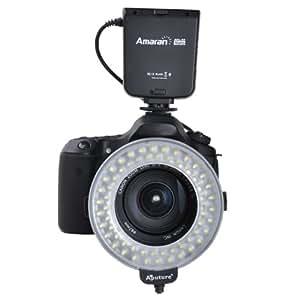 Macro Ring Flash LED - Flash annulaire pour Canon: 550D,500D,650D,450D,400D,350D,300D