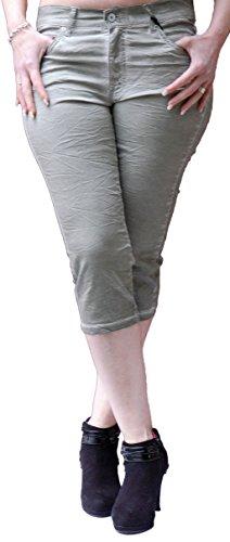 Angels Jeans - Short - Femme Vert - Vert