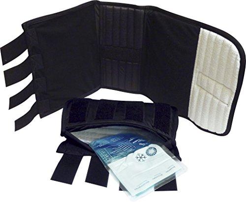 Jumptec Ruhe-, Kühl- oder Wärmegamaschen mit Tasche und Gelkissen