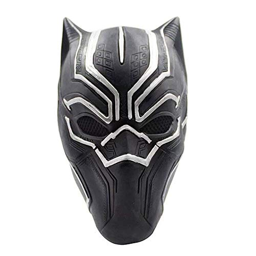 YaPin Black Panther Maske Blocker COS Kopfbedeckung Latex Maske Film Requisiten Halloween Performance Maske