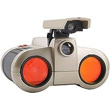 1 PC nuevas 4 X Vigilancia 30mm Alcance de la visión nocturna de los prismáticos para Niños Niño