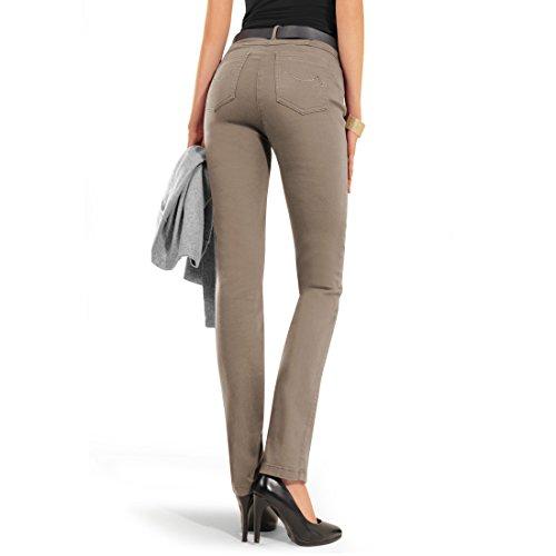 Magic-Jeans MEINE BESTE FREUNDIN taupe Gr. 46 - (21-31-2840-13 FB..75 GR.46)
