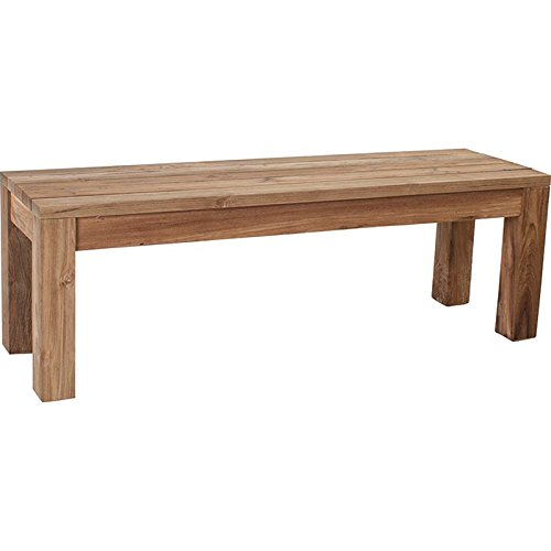 Bank aus Old Teak 135x40x45 cm