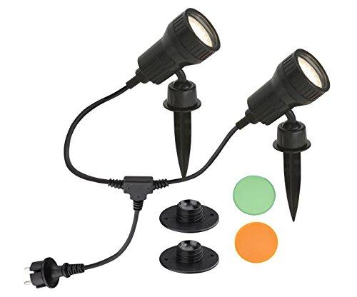 Briloner Inkl. 1 LED-Leuchtmittel GU10, 3 W, 270 lm, Warmweiß (3.000 K)