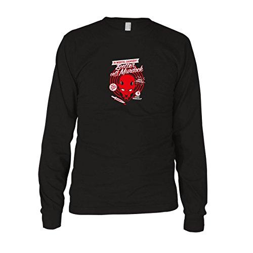 Better Call Murdock - Herren Langarm T-Shirt, Größe: XXL, Farbe: schwarz