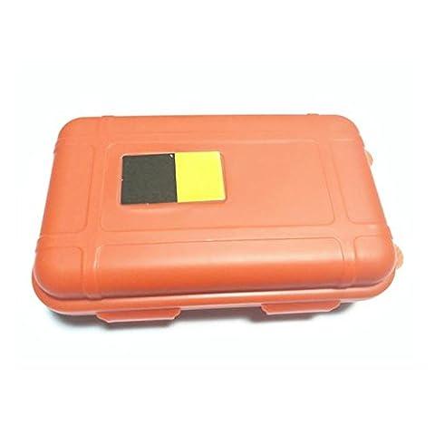 Container Box, tianranrt Outdoor Waterproof und stoßfest Aufbewahrungsbox Container Box, Orange