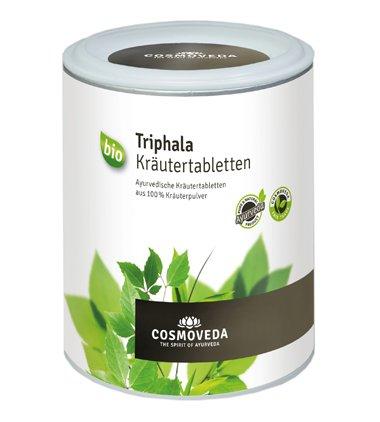 Cosmoveda Bio Triphala Kräutertabletten, 1er Pack (1 x 200g) - BIO