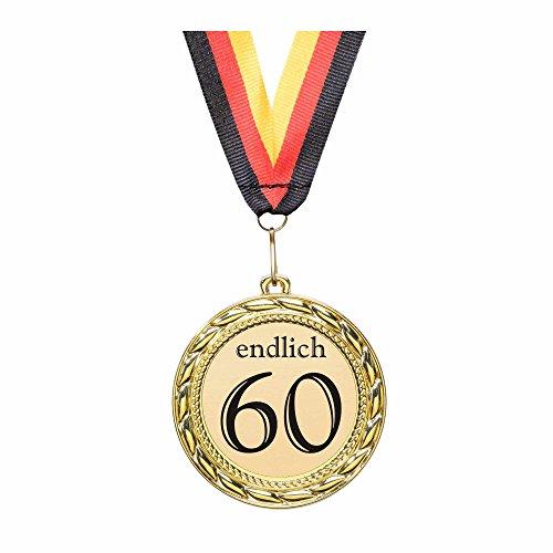 Preisvergleich Produktbild Orden / Medaille endlich 60