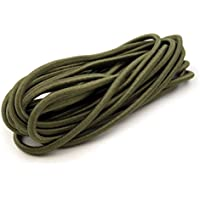 Goma elástica Cordón 2,2mm, verde oliva, 10 m