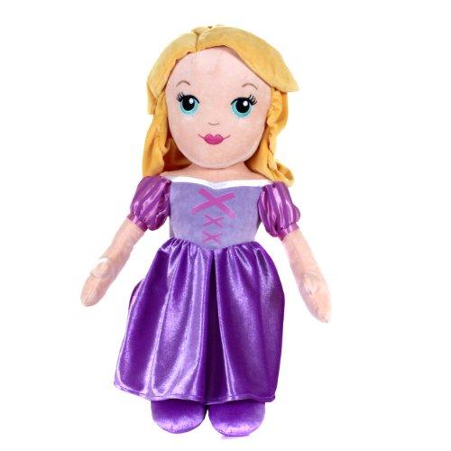 Disney - POPA33202 - Bambola morbida di Rapunzel, 50,8 cm