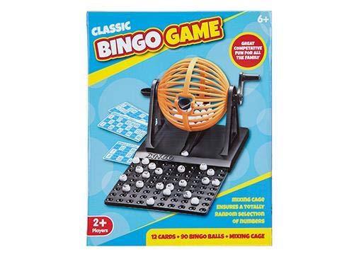 Klassisches-Bingo-Ballrad-Draht-Kfig-Lottospiel-Set-mit-Kartenmarkierer