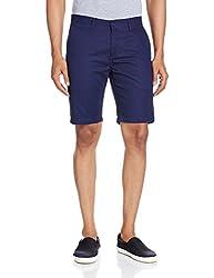 IZOD Mens Cotton Shorts (8907259734040_ZMST0027_34_Navy)