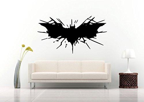 Autocollant de Logo de Batman Nouveauté Beau Des gamins Accueil Moderne Sticker mural Salon Chambre Décor Élégant Décoration Decal Décalcomanies Autocollants Fleurs