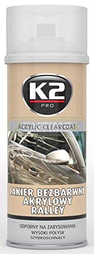 Preisvergleich Produktbild Akryl-Lack Acryl-Lack Transparent-Lack Auto-Lack Lack-Spray Sprüh-Lack klar transparent farblos Oberflächen-Glanz Schutz-Lack Versiegelung Metall Holz Plastik Kunststoffe neue Oberflächen Beständigkeit gegen mechanische Erzeugnisse und Kratzer glänzend schnelltrocknend 0,4l SPRAY