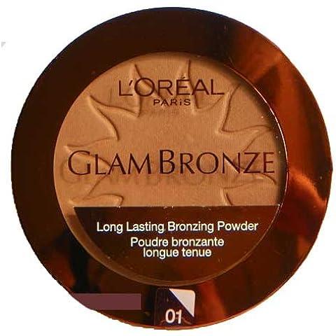 L'oreal Glam Bronze Bronzing Powder Compact, 01, Golden Sun by L'Oreal Paris