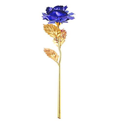 rose 24k gold berzogene rosen blume mit geschenk kasten bestes geschenk fr valentinstag. Black Bedroom Furniture Sets. Home Design Ideas