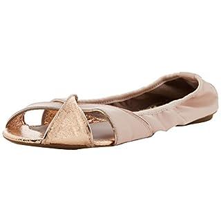 Butterfly Twists Damen Amelia Peeptoe Ballerinas, (Soft Pink 132), 37 EU