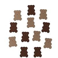 Bastelfilz Figuren Set - Mini Teddy - Filz, Textilfilz, Streudeko