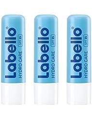 Labello Hydro Care / Lippenpflegestift im 3er-Pack (3 x 4,8 g) / Lippenpflege speziell für spröde und rissige Lippen / Lippenbalsam mit Sonnenschutz (LSF 15) und Aloe Vera für intensiven Lippenschutz