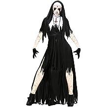 Disfraz Bruja Vampiresa Zombie Demonio Mujer Adulto Halloween Disfraces De Carnaval