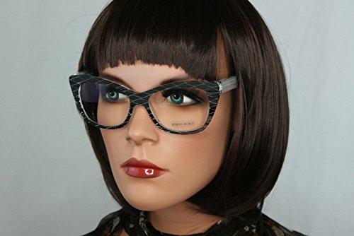 Alain mikli occhiali da vista a01346 colore b09u nuovi originali donna