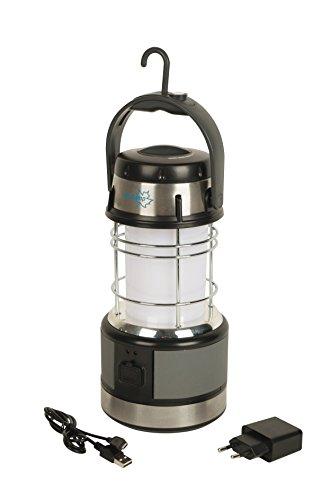 Preisvergleich Produktbild bo-camp 5818817Arktur-Laterne Tisch Kunststoff schwarz
