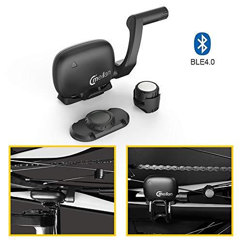 MEILAN C3 - Sensor inalámbrico de Velocidad y cadencia para Bicicleta (Bluetooth)