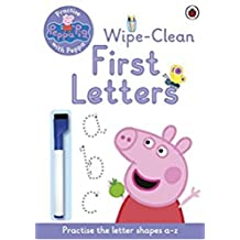 Peppa Pig: Practise with Peppa Wipe-Clean First Letters: Practise with Peppa Wipe-Clean Writing