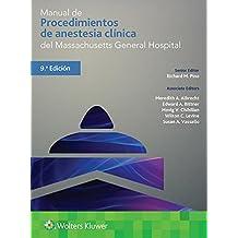 Man Procedimientos Anest Clin Mgh 9e (Pocket Notebook)