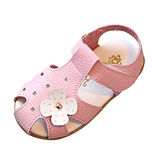 Chaussures Bebe GarçOn Naissance 1-3.5 Ans 2019 - Chaussures Ete Bebe Filles Premier Pas - Fleurs Casual Sandals Chaussures - Walaka