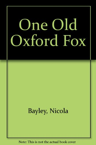One Old Oxford Fox