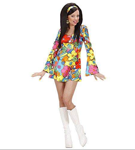 Imagen de widman  disfraz de hippie años 60s para mujer, talla 38 s/73952  alternativa