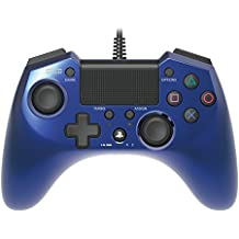 Hori Pad 4 FPS Plus Wired Controller Gamepad para PS4 PS3 Azul