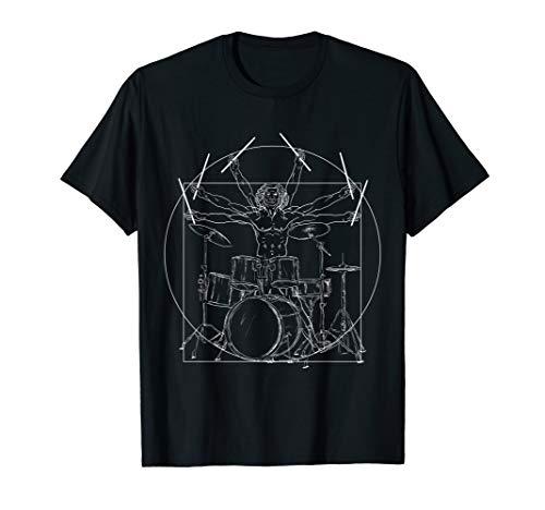 Drummer Da Vinci Vitruvian Drums...