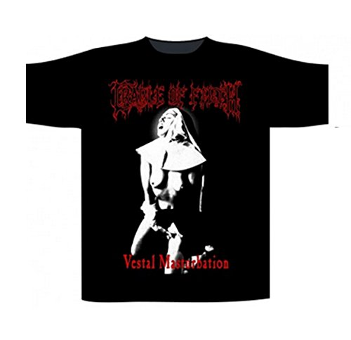 Cradle of Filth - Top - Uomo nero M