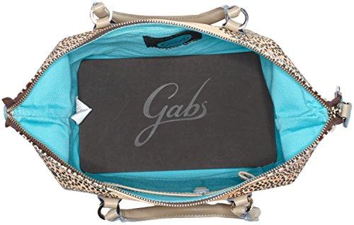 GABS - G3, Borsa a mano Donna Multicolore (Sole)