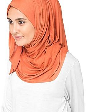 inessence© nuevo viscosa Lycra Jersey bufanda mujer Wrap Hijab...