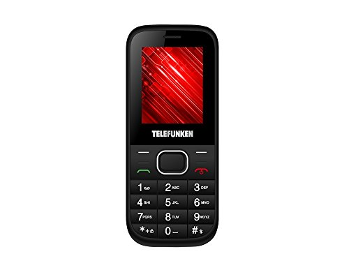 Telefunken TM9.1 - Móvil de Teclas Grandes (1.8') Color Negro