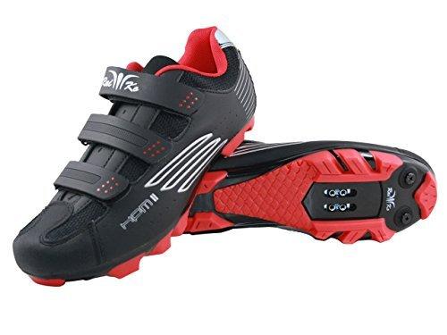 Raiko Sportswear HPM2 MTB Schuhe schwarz Größe 47 klick Pedale SPD Cleats