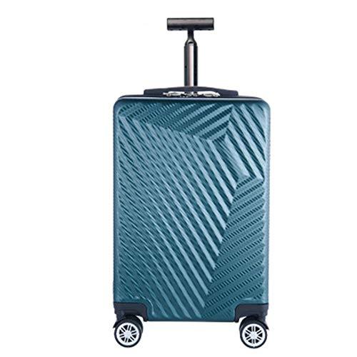 LJSHU ABS + PC Zipper Trolley Case Presión Impermeable