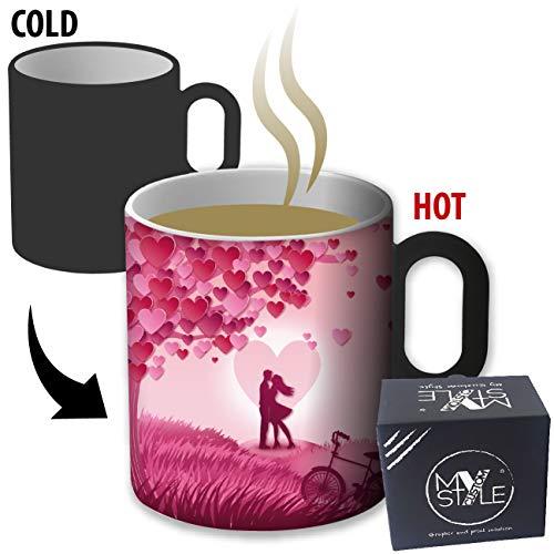 My Custom Style Tasse magische temperaturempfindlichen#SanValentino-Love8#325ml