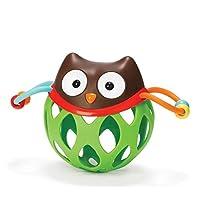 Preisvergleich für Baby-lustiges Spielzeug Kinder pädagogische Eulen-Hand bunter sensorischer Ball scherzt Funnny-Ball-Spielwaren-Geschenk