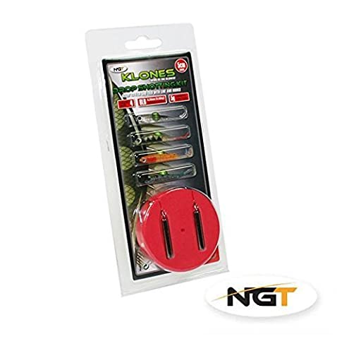 Klones Drop Shot Lure Fishing Kit 5g - Full Rig Included by NGT