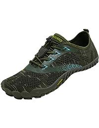 SAGUARO Zapatillas Minimalistas de Barefoot Trail Running Unisex-Adulto