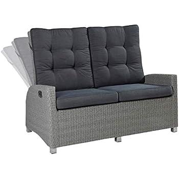 Amazon De Wholesaler Gmbh Lc Garden 2er Sofa Zweisitzer Modesto