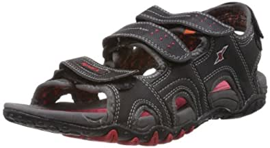 Sparx Men's Black Athletic & Outdoor Sandals - 6 UK (SS-422)