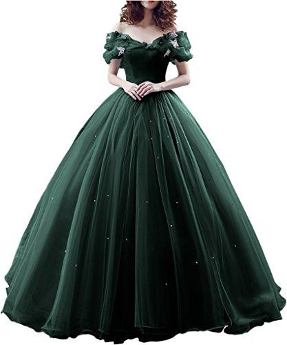 Promgirl House Damen 2017 Maerchenhaft Prinzessin A-Linie Ball Brautkleider Hochzeits Abendkleider...