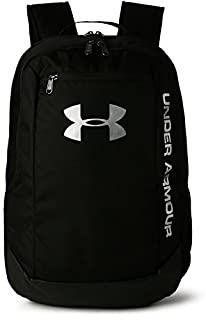 Under Armour UA Hustle Backpack Ldwr Mochila, Hombre, Negro (Black/Black/Silver 001), Talla única (B00ZUWDNNY) | Amazon price tracker / tracking, Amazon price history charts, Amazon price watches, Amazon price drop alerts